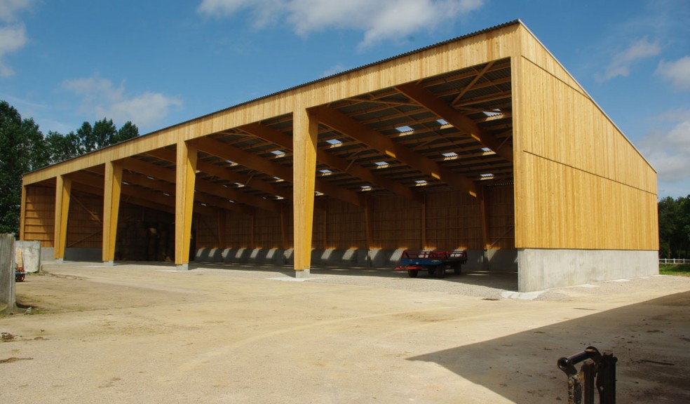 Hangar agricole agence b2 architecture architecte for Plan hangar agricole